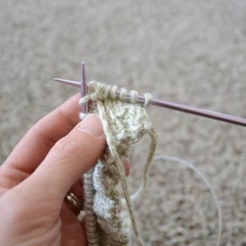 k2, p2 in the same stitch