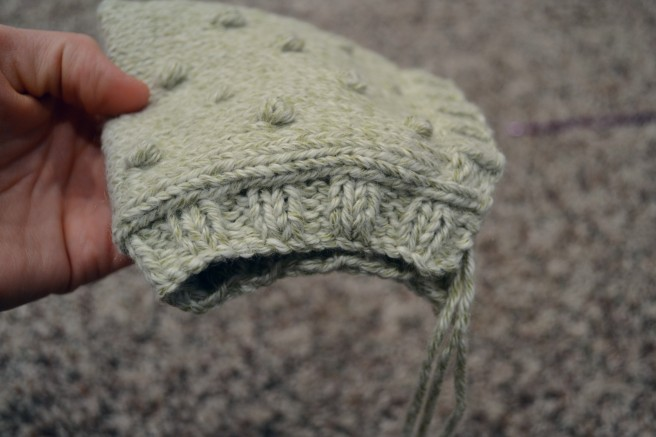 brittstitch.com free knit bonnet pattern and tutorial