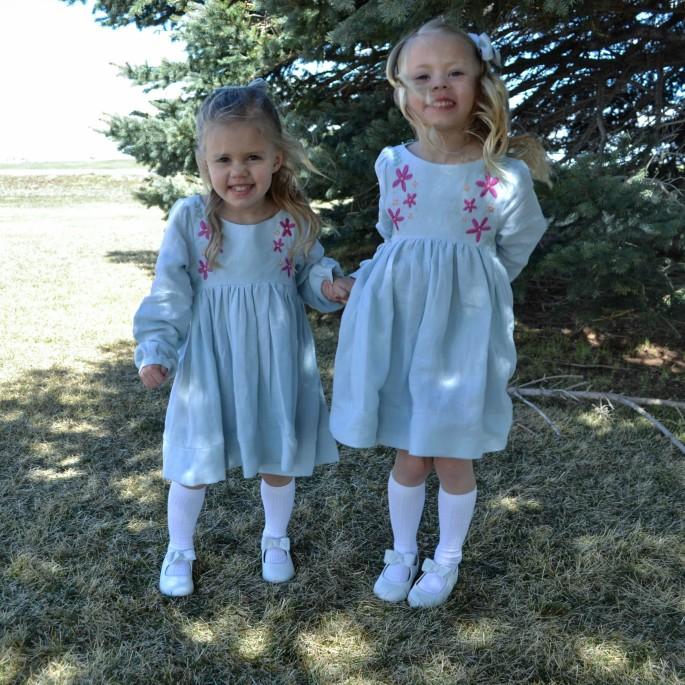 _DSC0076sq Violette Fields Threads Catherine Pattern, Britt Stitch Easter dresses