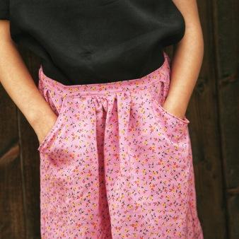 DIY Girls Flippy Skirt