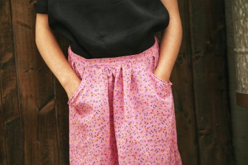 DIY Girls Flippy Skirt